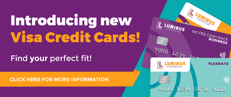 Introducing new Visa Credit Cards!